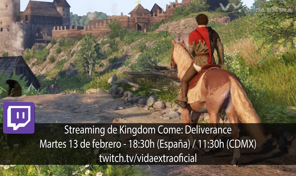 Kingdom Come Deliverance Twitch