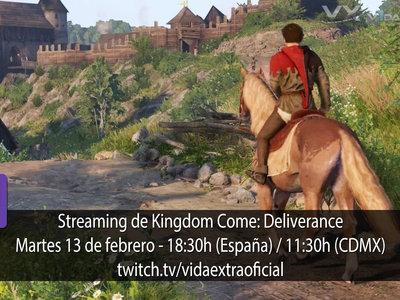 Streaming de Kingdom Come: Deliverance a las 18:30h (las 11:30h en Ciudad de México) [finalizado]
