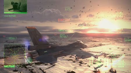 Ya disponible la demo de 'Ace Combat 6' en XBOX LIVE