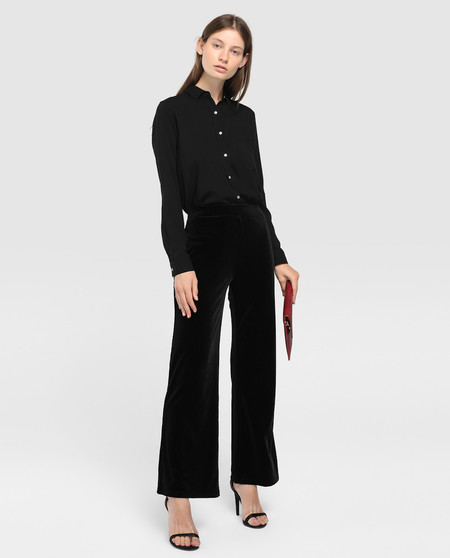 Los pantalones negros más vendidos de El Corte Inglés son de Easy Wear, están rebajados y son ideales para Nochevieja