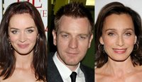 Emily Blunt, Ewan McGregor y Kristin Scott Thomas en la nueva película de Lasse Hallstrom