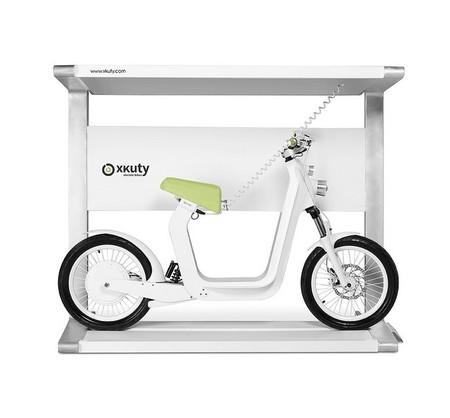 Spark, estación de carga con energía solar para Xkuty One