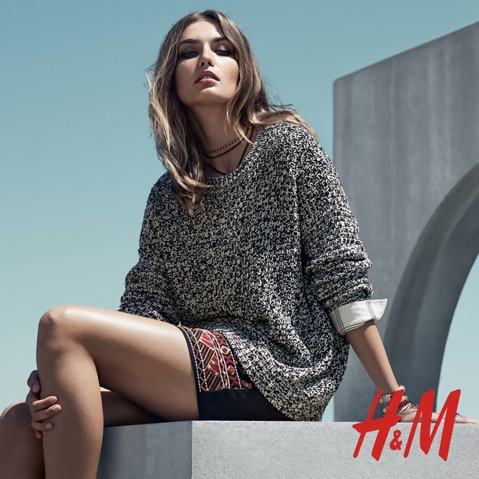 Foto de H&M catálogo Otoño-Invierno 2015 con Andreea Diaconu (3/6)