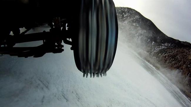Neumáticos con estacas