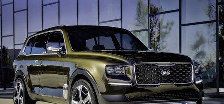 El KIA Telluride, el colosal SUV que preparan los coreanos, ya fue captado al desnudo