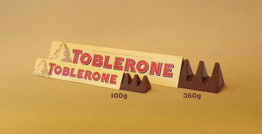 Toblerone, buscando que los consumidores ahorraran, logro enojarlos