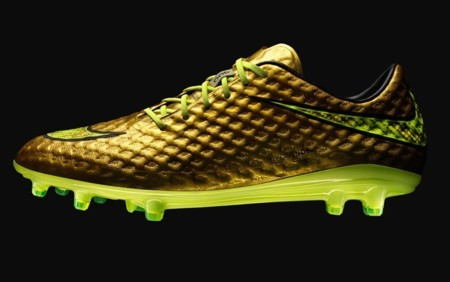 Nike Hypervenom Phantom, las zapatillas doradas de Neymar