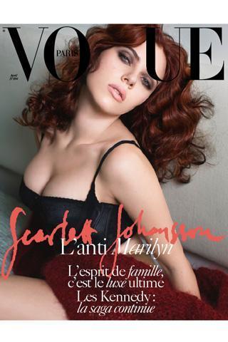 La sensualidad de Scarlett Johansson conquista Vogue París