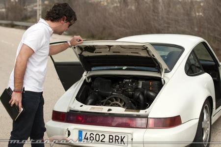 Porsche 911 964 Carrera RS motor
