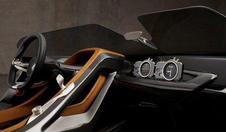 BMW 328 Hommage interior