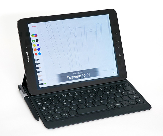 Samsung Galaxy™ Tab S3 con teclado y S Pen