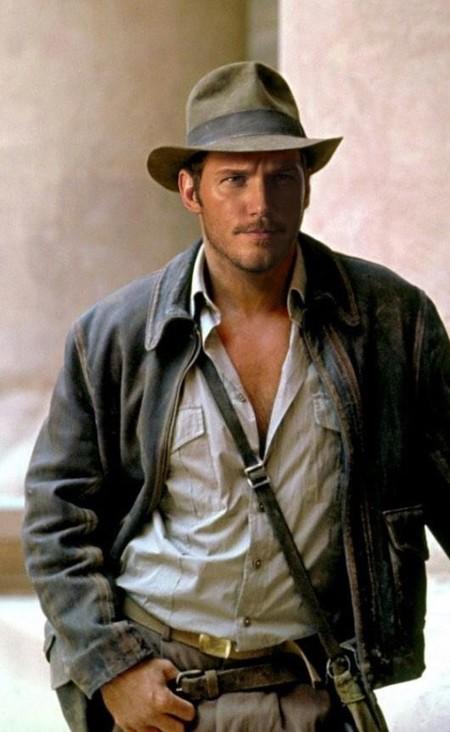 Chris Pratt como Indiana Jones
