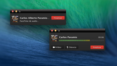 Llamadas de voz por FaceTime y bloqueo de contactos en OS X Mavericks