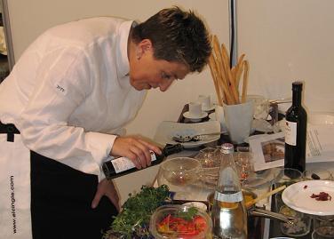 Montse Estruch ganadora del Concurso de Cocina Gusti-Negrini de Madrid Fusión