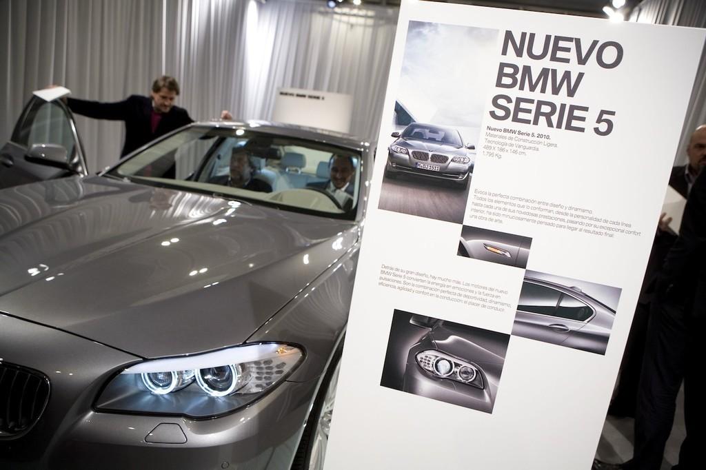 Foto de BMW Serie5 presentación estática en Madrid (4/9)