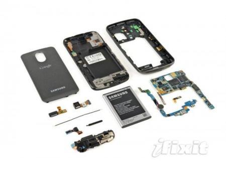 Desmontando el Galaxy Nexus