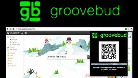 GrooveBud, control remoto de GrooveShark