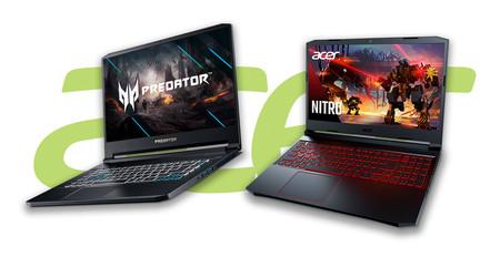 Acer renueva sus Predator Triton 500 y Nitro 5: la mejora en tasa de refresco llega también a su gama más económica de gaming