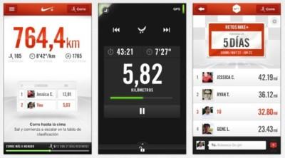 Nike+ Running añade Retos, funcionalidad para competir con tus amigos