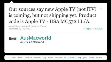 Información de última hora antes del evento: El Apple TV conservaría su nombre y Apple quiere hacer pruebas con su nuevo datacenter