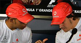 La rueda de prensa del Gran Premio de Brasil