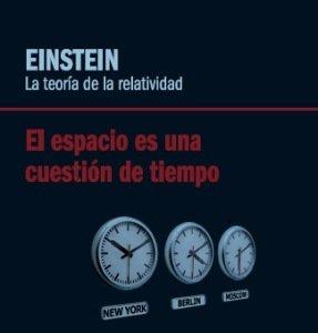 [Libros que nos inspiran] 'Einstein: la teoría de la relatividad. El espacio es una cuestión de tiempo' de David Blanco Laserna