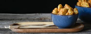 Buñuelos de verduras, receta para aprovechar restos de verduras (o no)