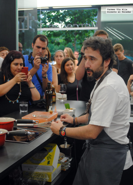 Diego Guerrero, un chef incansable e incombustible
