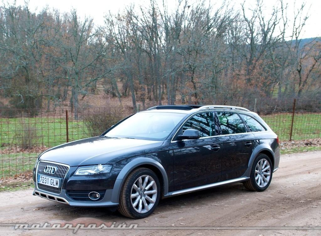 Audi A4 Allroad Prueba 3 18
