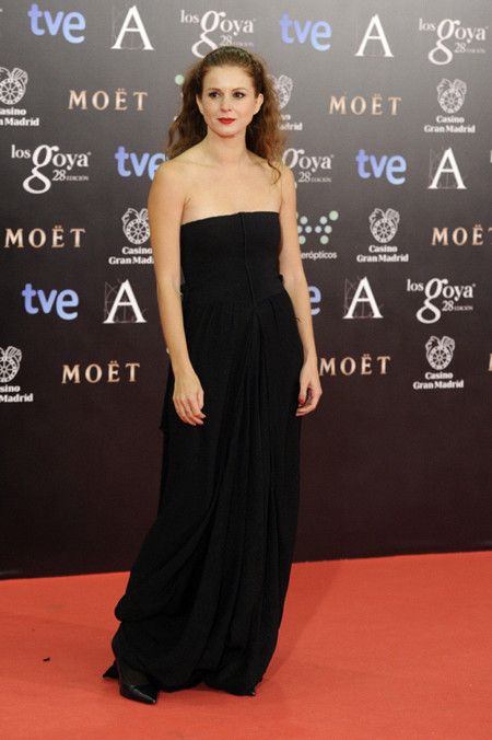 Mariam Aguilera peor vestidas Goya 2014