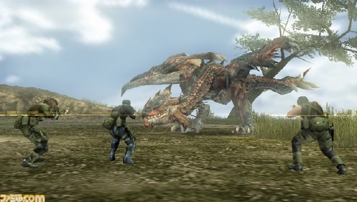 Foto de Metal Gear Vs Monster Hunter (1/5)