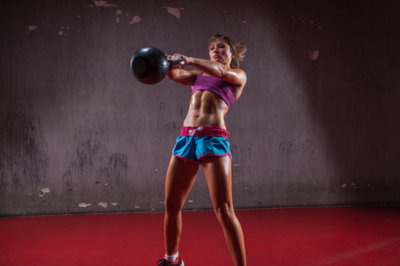 Ejercicios Crossfit (XV): Kettlebell swing o balanceo con pesas rusas