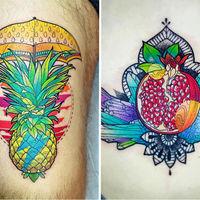Comida de EsCultura: Tatuajes inspirados en comida
