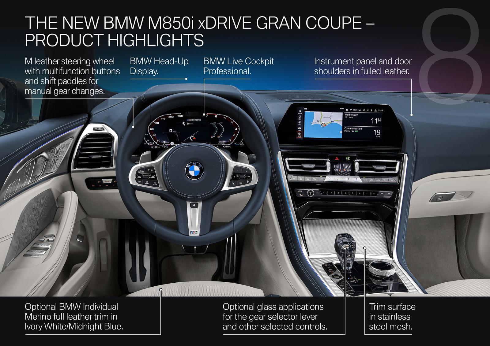 Foto de BMW Serie 8 Gran Coupé (presentación) (145/159)