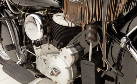 motocicleta Indian Chief de 1946 que perteneció a Steve McQueen
