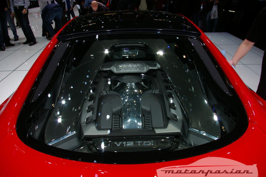 Foto de Audi R8 TDI Le Mans en el salón de Ginebra (6/19)