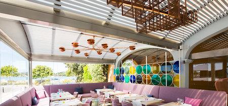 Baiben, un colorido restaurante inspirado en las calas de Mallorca