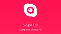 Skype Qik para Android, así es su nuevo servicio de mensajería de vídeo