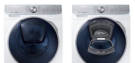 Samsung lleva un nuevo sistema de lavado y un asistente inteligente para la colada a su nueva lavadora de la serie 8