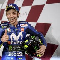 """Valentino Rossi comienza la temporada sorprendiendo: """"Un podio es una gran manera de empezar"""""""