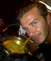 David Beckham, pásame una tapita de arroz