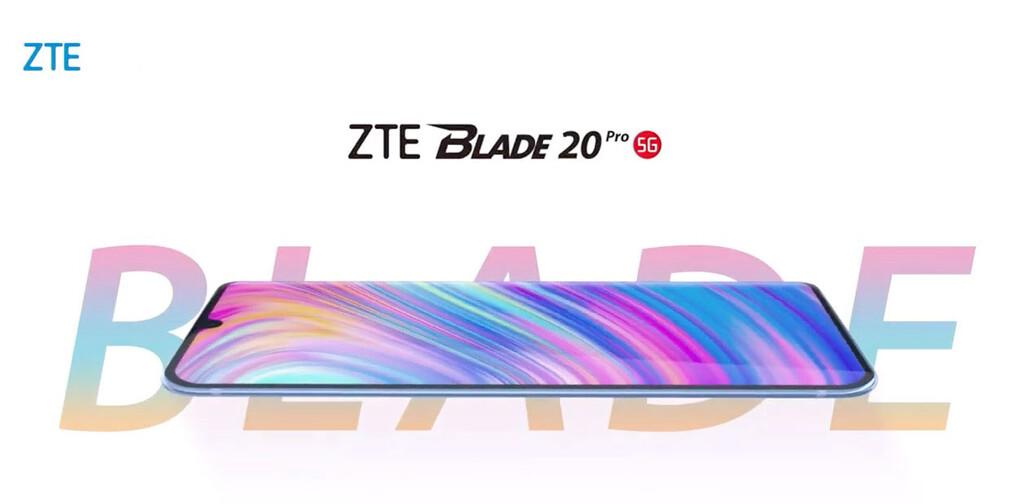 ZTE Blade 20 Pro: delgadez y pantalla curva para un nuevo gama media con 5G