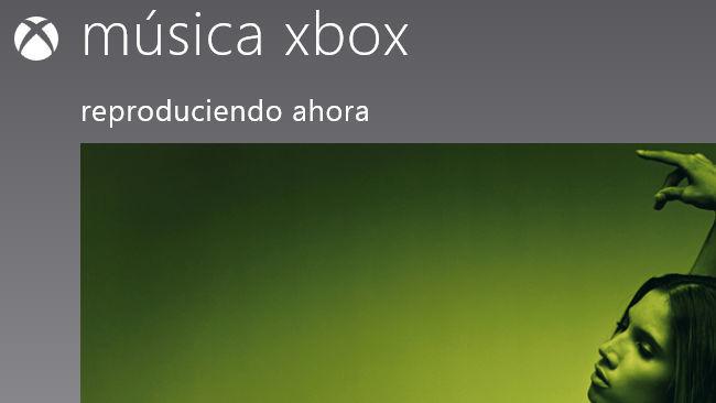 Windows 8 música
