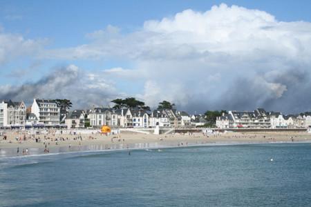 La península de Quiberon en Bretaña, lugar de nacimiento de la talasoterapia