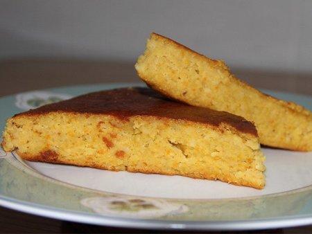 Receta de pastel de naranjas y harina de almendras enriquecido con nata para cocinar sin lactosa