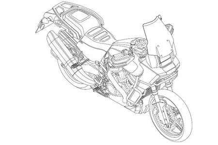 Harley Davidson Patent 6