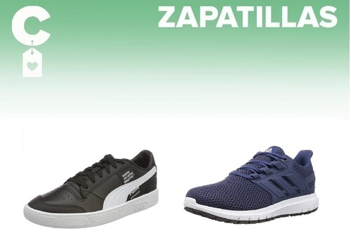 Chollos en tallas sueltas de  zapatillas Nike, Puma o Adidas en Amazon