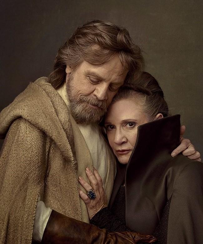 Luke y Leia