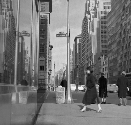Park Avenue And 57th Ca 1954