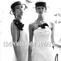 Emporio Armani campaña Primavera-Verano 2012: éramos jóvenes y coquetas